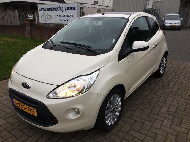 occasions details van een ford ka 1 2 titanium. Black Bedroom Furniture Sets. Home Design Ideas