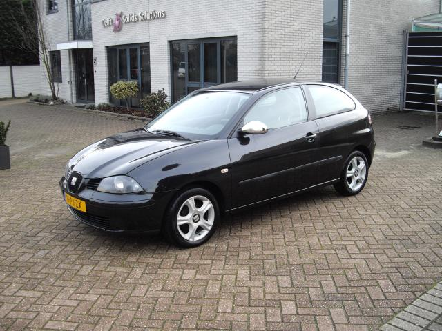 occasions details van een seat ibiza 1 4 reference 55kw aut in wateringen. Black Bedroom Furniture Sets. Home Design Ideas
